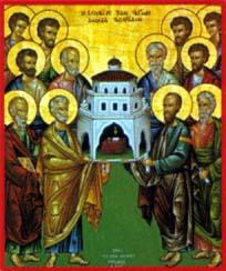 Synaxe des 12 Apôtres