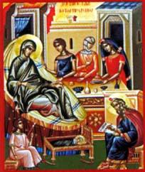 Nativité Jean le Baptiste