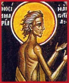 Ste Marie Egyptienne