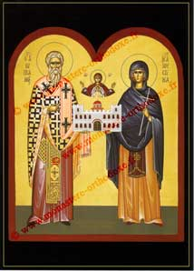 Sts Cyprien et Justine