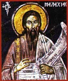 St Prophète Malachie