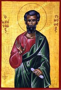 St Timothée, Apôtre